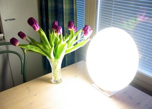 An example of a SAD lamp used in light therapy.